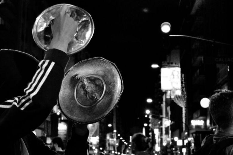 la gente salió a la calle, por Natalia Baratta