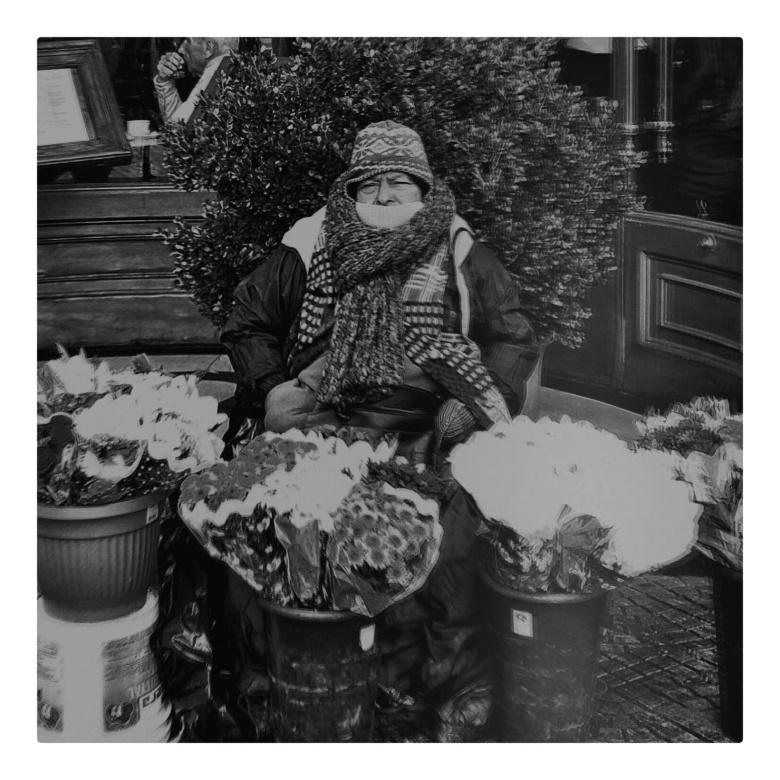 fotografía en blanco y negro de natalia baratta