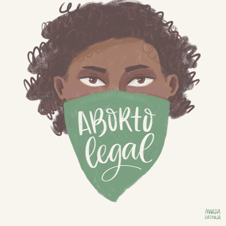 ilustración de mujeres empoderadas por Magda Castría para Amalgama Cultural