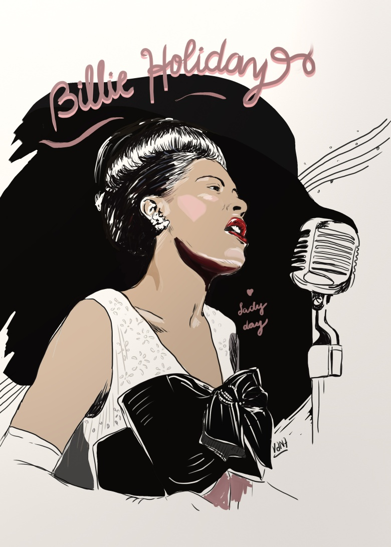 Billie Holiday by VM