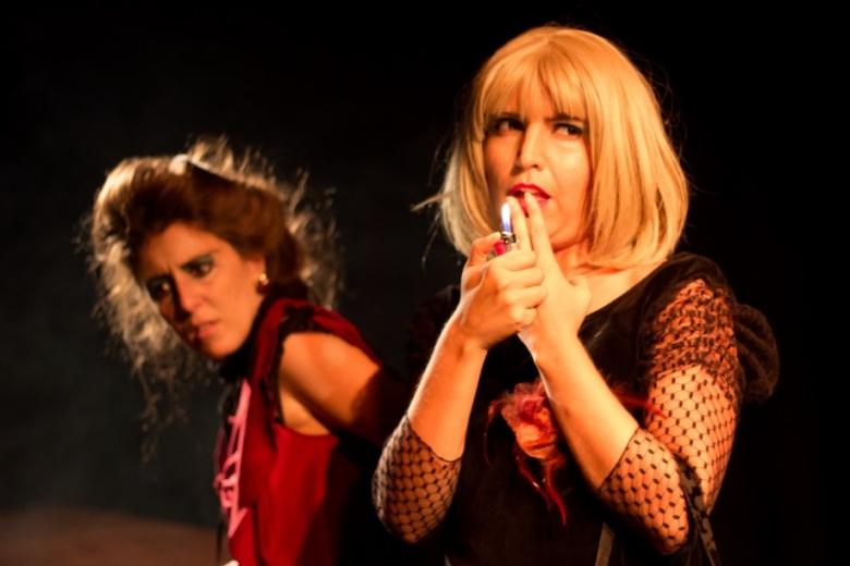 obra de teatro Las loras amor linyera