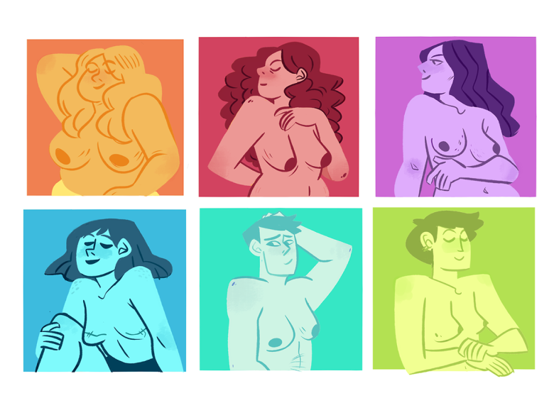 ilustraciones de mariana amatista para amalgama cultural