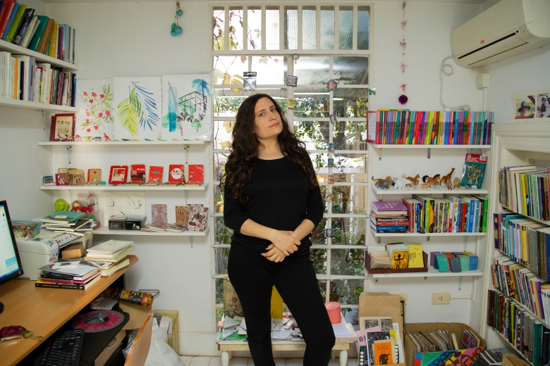 Foto de Nurit Kasztelan por Alejandra Bonaccini para Amalgama Cultural